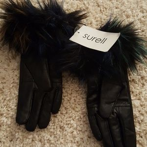 Surell Leather Gloves